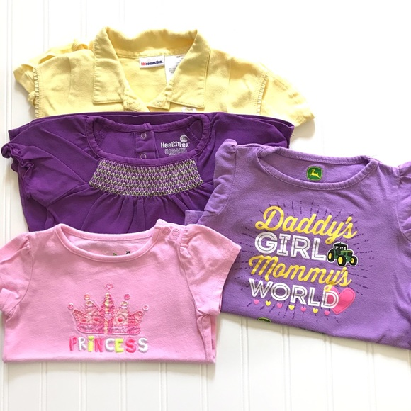 John Deere Other - Bundle of 4 Baby Girl's Size 18 & 24 months
